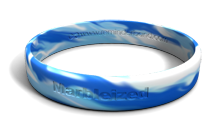 Marbleized Wristbands