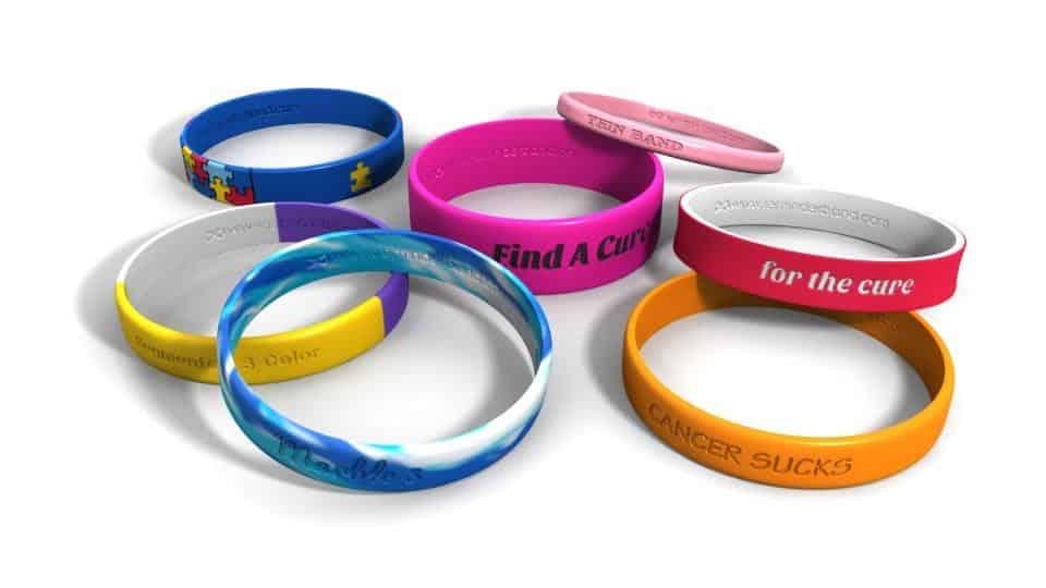 Reminderband Rubber Bracelets