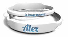 Marquee Memorial Name Wristband