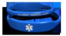 Caduceus Allergy Medical Bracelet