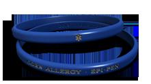 Food Allergy Medical Alert Bracelet
