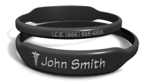 Custom Name Medical Alert Bracelet