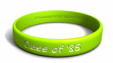 Custom Reunion Wristband