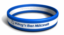 Bar or Bat Mitzvah Custom Wristband
