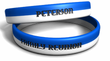 Family Reunion Striped Wristband