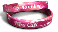 Breast Cancer Race Wristband