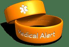 Med-Alert Phat Wristband