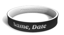 Dual-Layer Memorial Name Bracelet