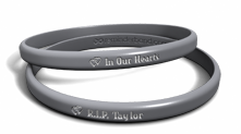 In Our Hearts Memorial Custom Name Bracelet