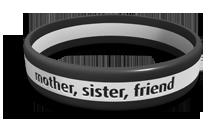 Striped Memorial Bracelet