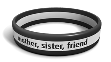 Mother Memorial Wristband