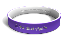 'Til We Meet Again Wristband