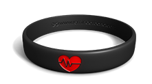 Heart Disease Wristband