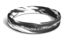 Fight Lung Cancer Marbleized Bracelet