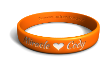Miracle Custom Name Wristband