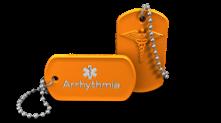 Arrhythmia Medical Alert Keychain