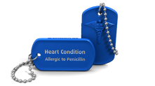 Heart Condition Medical Alert Dog Tag