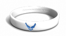 Air Force Emblem Wristband