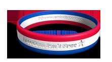 Freedom Isn't Free Wristband