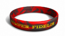 Semper Fidelis - Always Faithful Marines Wristband