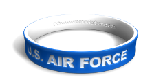 U.S. Air Force Dual-Layer Wristband