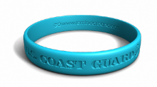 Blue U.S. Coast Guard Wristband