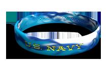 U.S. Navy Camo Wristband