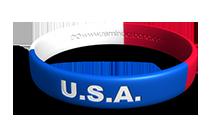 U.S.A. Wristband