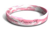 Breast Cancer Fundraiser Wristband
