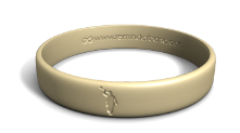 Angel Moroni Wristband