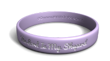 The Lord Is My Shepherd Wristband
