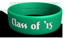 Graduation Wristband