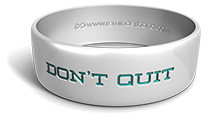 Don't Quit Wristband
