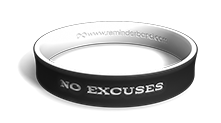 No Excuses Wristband