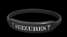 Seizure Medical Alert Marquee Bracelet