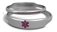 Type 1 Diabetes Bracelet