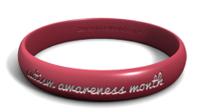 Autism Awareness Contour Band