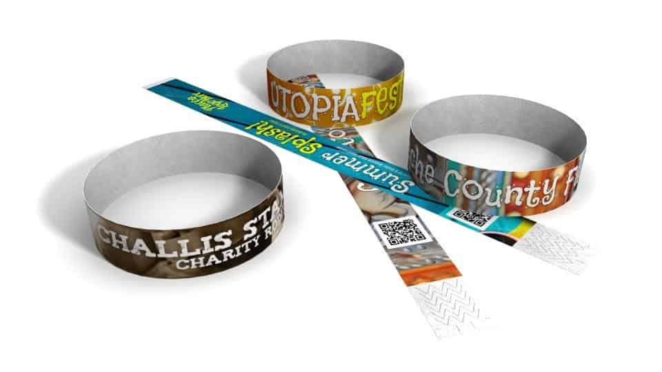 Custom Tyvek Wristbands