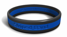3 Striped Wristbands
