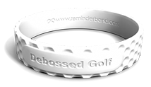 Debossed Golf Wristband