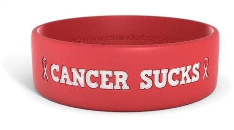 Cancer-Sucks-Bracelet-Reminderband