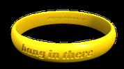 Contour Wristband Debossed