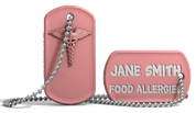Food Allergies Medical Alert Dog Tag