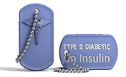 Medical Alert Dog Tag Keychain Diabetes.png