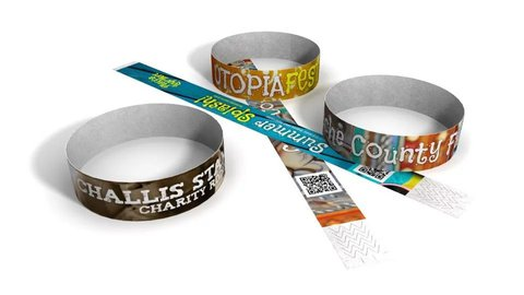 Tyvek-Wristbands