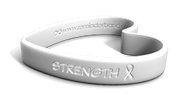 Cancer Ribbon Heart Band