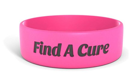 Custom Cancer Bracelets Cancer Colors Free Shipping Reminderband