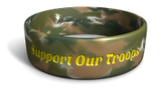 Support Our Troops Phat Camo Band