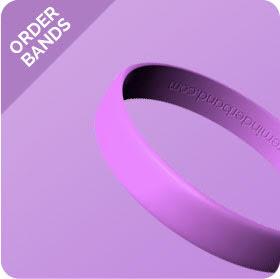 Lavender Cancer Band