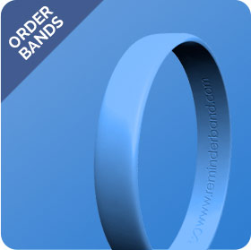 Testicular Cancer Band Blue